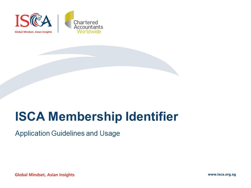 Membership Identifier Usage Guideline